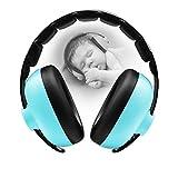 BBTKCARE - Auriculares con cancelación de ruido para bebés de 3 meses a 2 años Verde azulado. Talla única