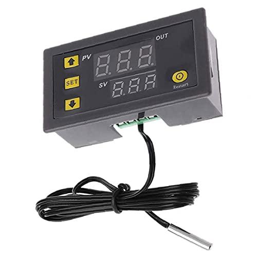 Controlador de temperatura digital Termostato Regulador de conmutación W3230 LED Display 110V-220V Módulo Termómetro, aparatos de control industrial
