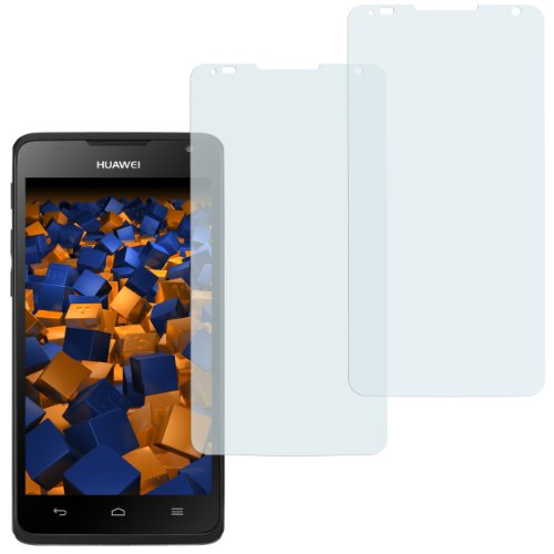 mumbi Schutzfolie kompatibel mit Huawei Ascend Y530 Folie matt, Bildschirmschutzfolie (2x)