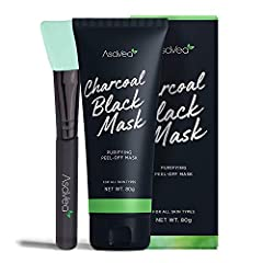 Flush Out Environmental Toxins: Activated charcoal draws out toxins, dirt, and impurities that clog pores for a renewed and clear looking complexion. This deep cleansing blackhead remover also effectively reduces signs of aging by tightening skin and...
