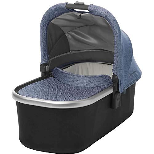 2018 UPPAbaby VISTA Stroller, Henry (Blue Marl/Silver/Saddle Leather)