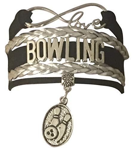 qws Bowling Jewelry Bowling-Charm-Armband Perfektes Bowling-Geschenk für Frauen