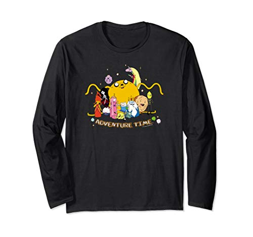 Adventure Time Outstretched Long Sleeve T-Shirt