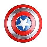 Escudo Capitan America 1: 1 Adulto Apoyos de Película Niños Hierro Forjado CapitáN AméRica Shield Vengadores Capitán América Disfraz,Hierro Forjado CapitáN AméRica Shield B,47cm