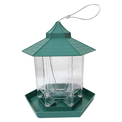 Bandeja Alimentadora De Semillas para Pájaros, Patio De Jardín Colgante Salvaje, Decoración Exterior, Distribuidor De Alimentos para Pájaros, Estación De Alimentación, Pájaros De Jardín Colgantes