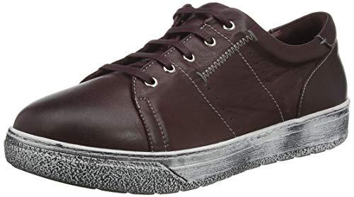 Andrea Conti 4060003, Zapatillas Mujer, Borgoña, 38 EU