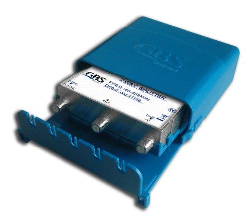 G.b.s. Elettronica 41168 Derivatore da palo Dpe/2, 2 Uscite da Palo, 1 Ingresso, 1 Uscita + 1 Uscita cc