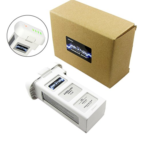 MTXtec Battery for DJI Phantom 4, 15.2 V, 4480 mAh, 68Wh
