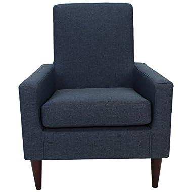 Parker Lane Uch-Edw-jit6 Edward Arm Chair, Navy Blue