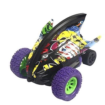 Amazon - Save 70%: Inertial 360° Rotation Stunt Graffiti Car Off Road Shark Car Vehicle Kids Toy (Pur…