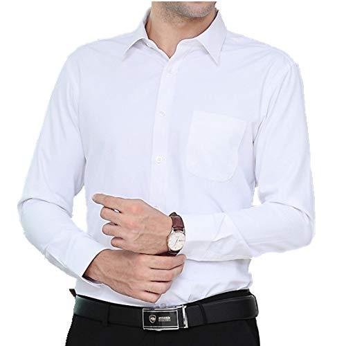 Preisvergleich Produktbild NOBRAND Herren Langarmshirt Slim Fit Gr. 6XL,  weiß