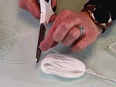 Clip: Embroidery Hoop Chandelier