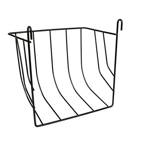 TRIXIE Porta Heno/Verduras, Metal Lacado, 20 x 18 x 12 cm, Pequeños Mamíferos