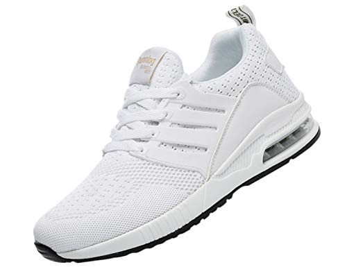 SINOES Damen Sneakers Frauen Freizeitschuhe Laufschuhe Outdoor Schuhe Dicken Sohlen Luftkissenschuhe Sneakers Turnschuhe Freizeitschuhe