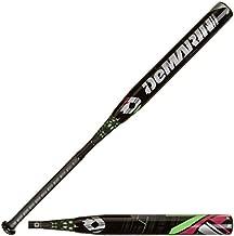 DeMarini CF7 Insane -10 Fastpitch Baseball Bat, Black/Green, 34-Inch/24-Ounce