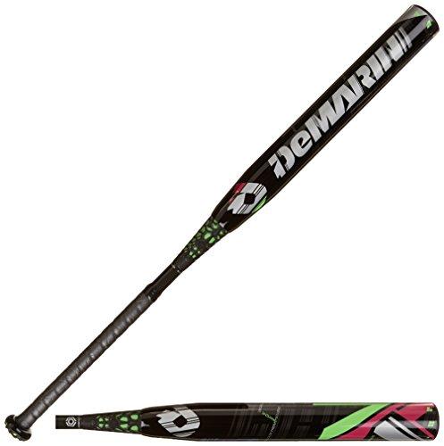 DeMarini CF7 Insane -10 Fastpitch Baseball Bat, Black/Green, 32-Inch/22-Ounce -  Wilson - DeMarini Warehouse, WTDXCFI 2232-15