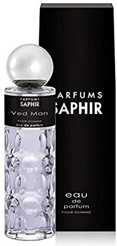 PARFUMS SAPHIR Ved Man, Eau de Parfum con vaporizador para Hombre, 200 ml