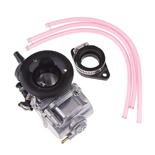 CSQIANG 28MM PWK 28 piezas del neumático del carbono del carburador para NSR50, NSR80, NSR125