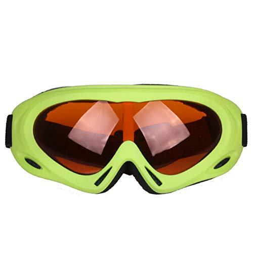 GTRR Winddichte Einschichtige Skibrille Langlauf-Schutzbrille Für Erwachsene Für Kinder Radfahren Bergsteigen Outdoor-Sportgeräte,9