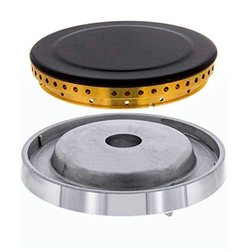 Conjunto Tapeta + Aro y Quemador Cocinas TEKA (Grande 92 mm)