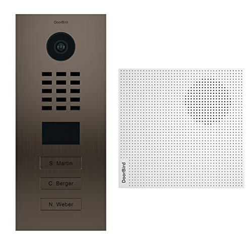 doorbird–Kit d2103bv + a1061W–Videoportero (IP 3sonnettes + Timbre