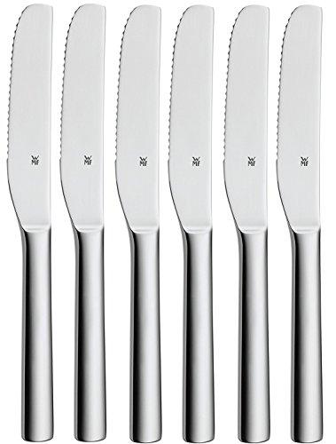 WMF Nuova - Juego de 6 cuchillos de pozo (acero inoxidable)