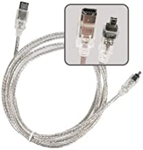 Firewire DV Cable Camcorder for Canon Sony Sharp JVC