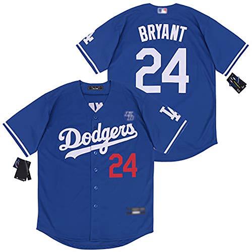 DODGE Baseball Uniform 8#24# Kurzarm T-Shirt Sommer Sportbekleidung Stretch und Atmungsaktiv Stoff Spieler Uniformen Sportswear für Fans C-M