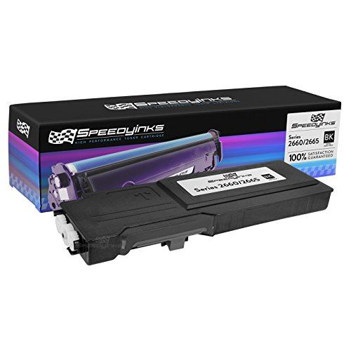Speedy Inks - Compatible Dell C2660dn C2665dnf C2660 Extra High Yield Black 593-BBBU, RD80W Toner Cartridge for use in Dell C2660dn and C2665dnf