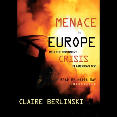 Menace in Europe audiobook cover art
