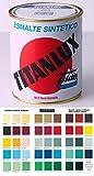 Titan 001055434 Esmalte Sintético, Gris Azulado, 750 ml