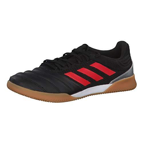 adidas Copa 19.3 IN Sala, Zapatilla de fútbol Sala, Core Black-Hi Red-Silver Metallic, Talla 11.5 UK (46 2/3 EU)