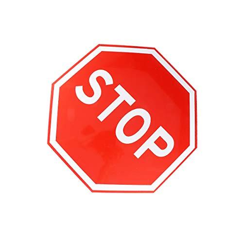 NUOBESTY Control de tráfico Señal de stop Señal de seguridad en la