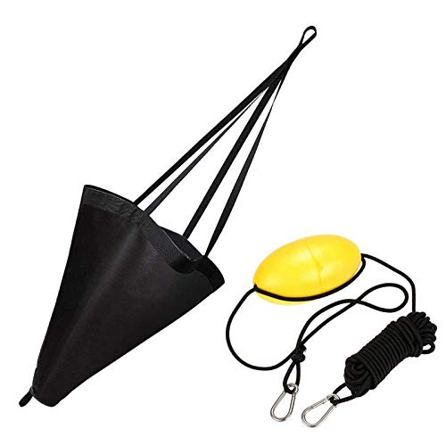 Dyna-Living Boat Anchor Boat Drift Sock 24 inches Drift Ancho Marine Drag Parachute Accessories for...