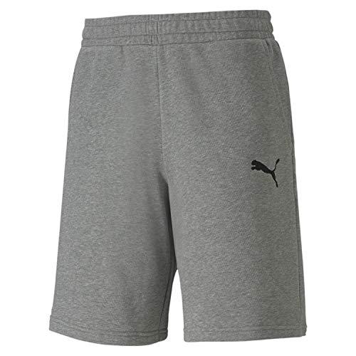 PUMA Herren teamGOAL 23 Casuals Shorts, Medium Gray Heather, S