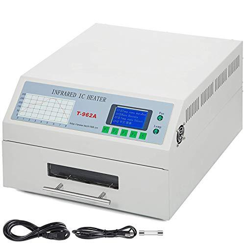Küchenks T962A 1500W Infrarotlötfreier Reflow-Ofen Fensterschubladen-IC-Heizung 300x320mm Reflow-Ofen-Controller (Open Source)
