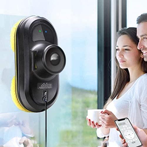 WXking Limpiador de ventanas, Limpiador de ventanas robótico inteligente, Robot aspirador remoto automático anticaída Inteligente, Máquina limpiadora de limpieza rápida de cristales, Limpieza de venta