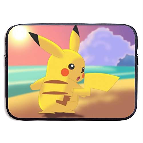 Pokemon Pikachu 360°Protective Neoprene Laptop Sleeve Case for Apple 15-13 Inch New MacBook