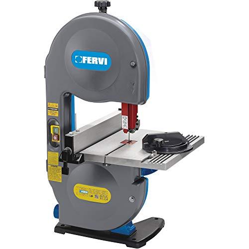 Fervi - Sierra de cinta para madera 0717A, 0,35 W, 230 V