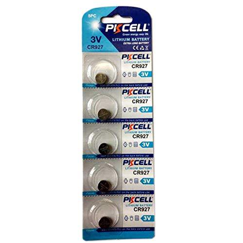CR927 DL927 BR927 ECR927 5011LC 927 3V Lithium-Knopfzelle für Thermometer, 5 Stück