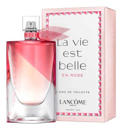 Perfume Lancome La Vie Est Belle En Rose Feminino 100ml + Nf