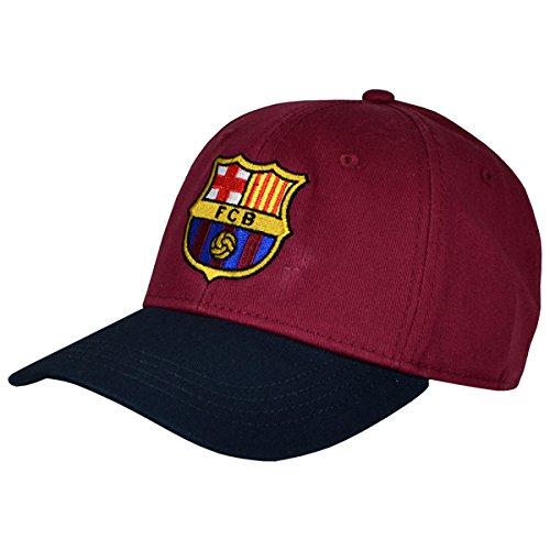 FC Barcelone Casquette Baseball Chapeau Cappy Article de Fans