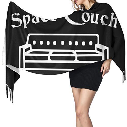 Space Sofa - Chal largo cálido para mujer, bufandas grandes, sensación de cachemira, bufanda larga