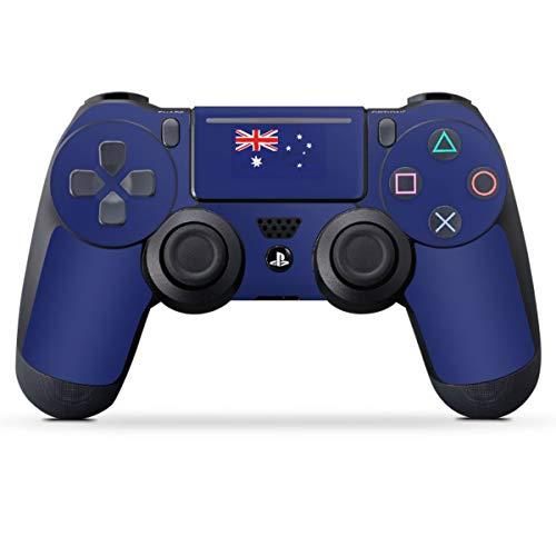 DeinDesign Skin kompatibel mit Sony Playstation 4 PS4 Pro Controller Folie Sticker Flagge Australien Flaggen