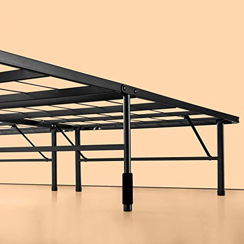 Zinus 35.56 cm SmartBase Mattress Foundation/Platform Frame/Box Spring Replacement/Quiet Noise-Free/Maximum Under-Bed Storage, Steel, Double