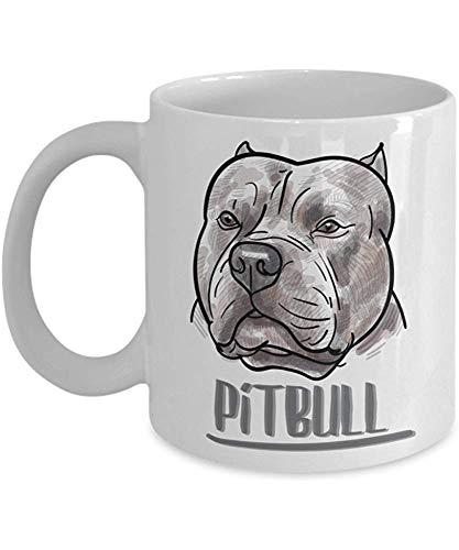 Pitbull Kaffeetasse Einzigartige Geschenke Bs