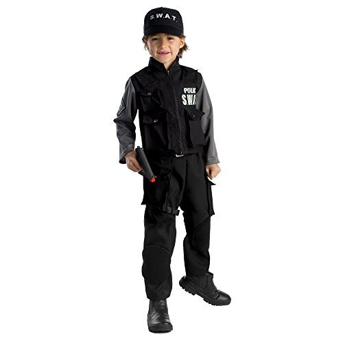 Dress Up America Disfraz de SWAT Jr. para niño