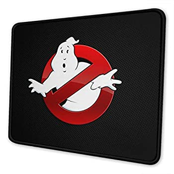 Ghostbusters Mouse Pad Mat Gaming Unique Custom Mousepad Computer Keyboard Stitched Edges Office Ideal for Desk Cover Large Mouse Pats Laptop and PC 10 x 12 inch
