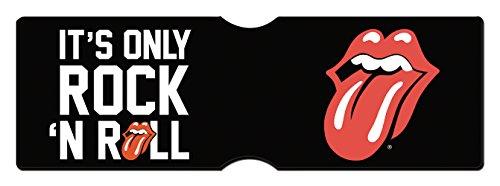 GB eye Stones Only Rock and Roll - Tarjetero para Tarjetas (16 x 0,3 x 11 cm)