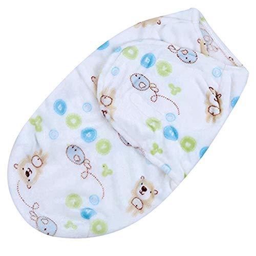 Screenes Couverture Souple Pour Bébé Swaddle Blanket Wrap Blanket Pour Le Simple Style Style De Mode Classique De Simplicité Nouveau Né (Color : Little Bear, Size : Size)